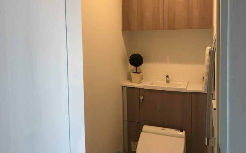 集合住宅のトイレ