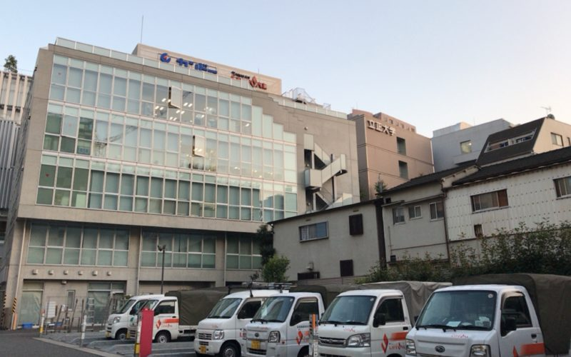 東京ガスライフバルカンドーの外観